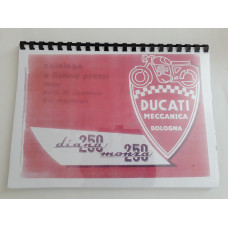 Ducati Spare Parts Catalogue 250 Diana and 250 Monza