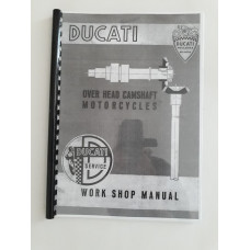 Ducati OHC Workshop Manual for 4 speed models 100 to 200