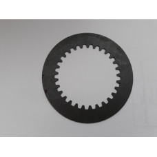Plain steel clutch plate